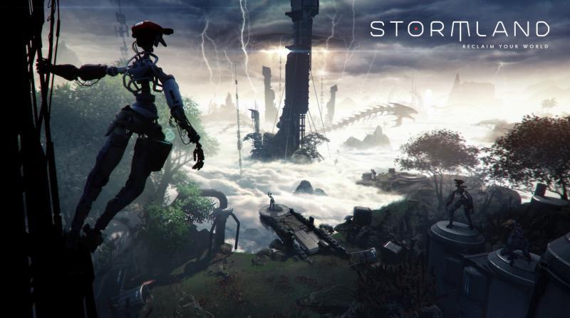 Oculus et Insomniac présentent Stormland, un FPS VR Co-op en monde ouvert - 2