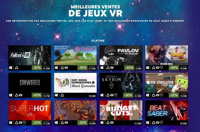 Steam fait le tour des ventes VR. - 4