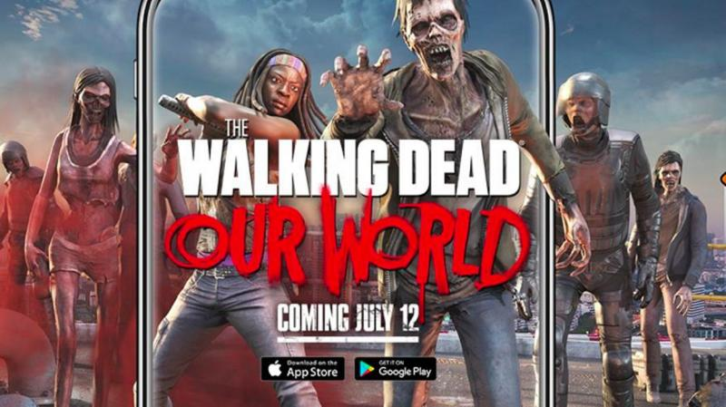 The Walking Dead: Our World – Tuer gratuitement du zombie en RA dans la rue - 2