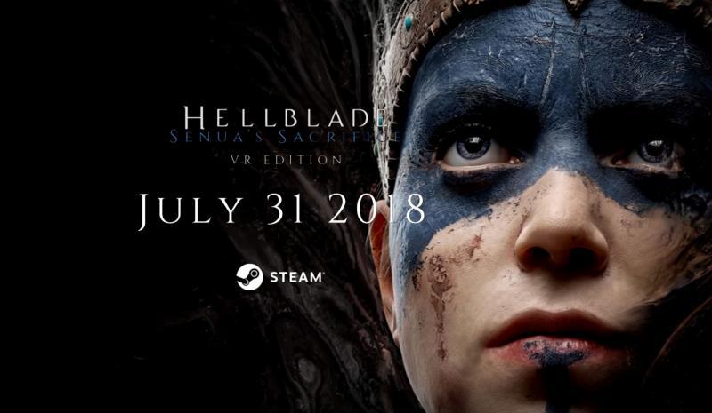 HellBlade VR Edition le 31 juillet 2018 sur PC - 2