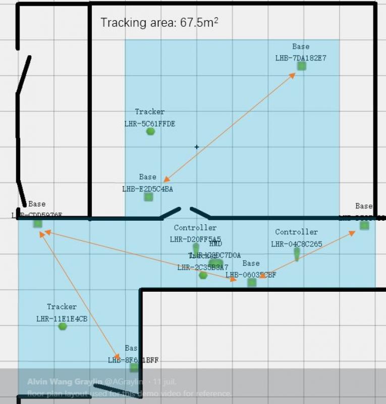 HTC expérimente la captation de mouvements multi-pièces avec les stations SteamVR 2.0 - 4