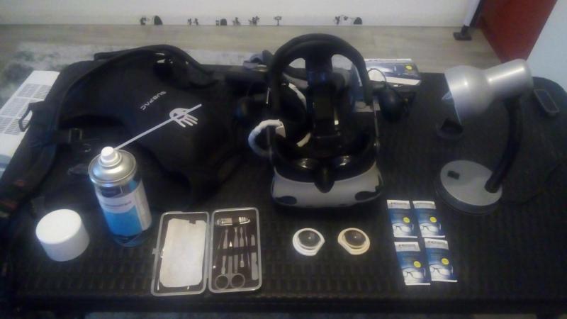 TUTORIEL : Optimiser son HTC Vive avec les lentilles GearVR - 2