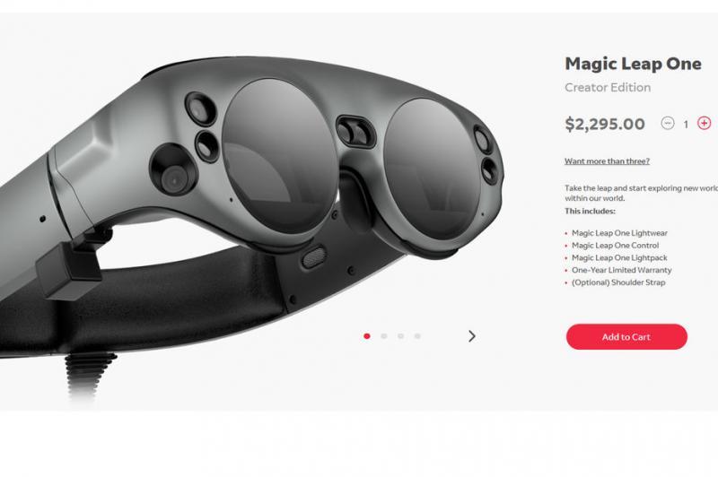 Magic Leap One : le casque de réalité augmentée est disponible - 4