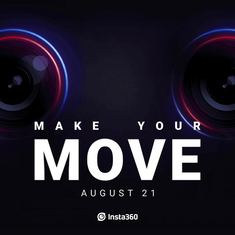 Insta360 tease une nouvelle caméra 360° pour août - 4