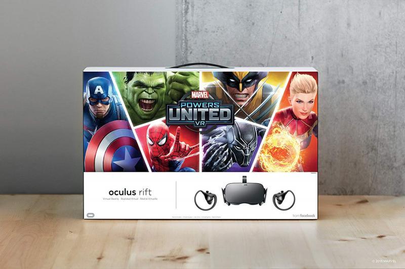 Le pack Oculus Rift + Touch+ Marvel Powers United VR est disponible en France - 2
