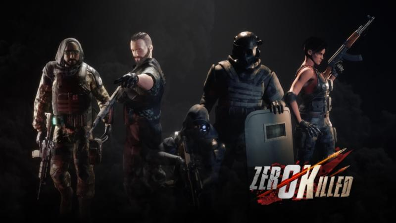 Zero Killed : un nouveau jeu multi de tir tactique pour Oculus Rift et HTC Vive  - 2