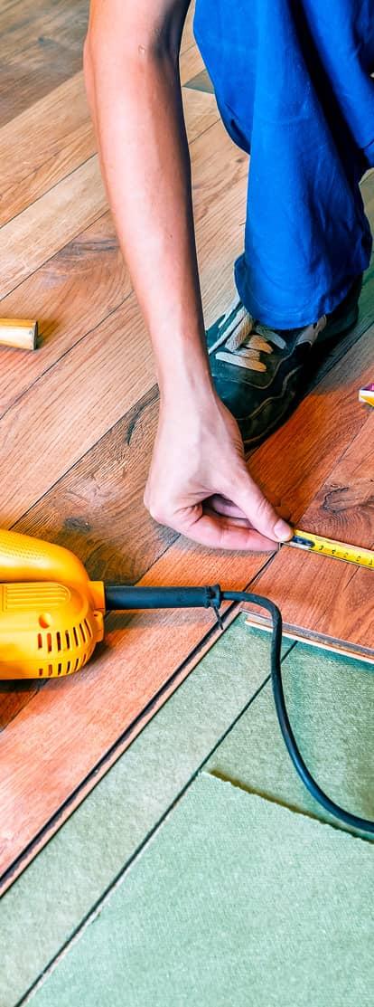 Faites poser du parquet dans votre intérieur avec IZI by EDF