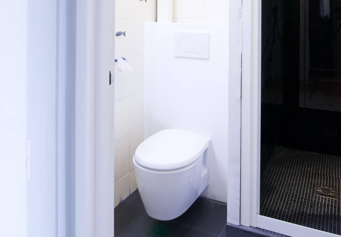 Toilettes après travaux de rénovation