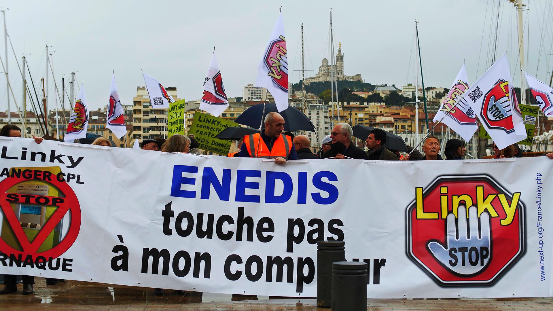 Manifestation Enedis