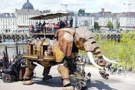 Machines de l'île, éléphant, Nantes