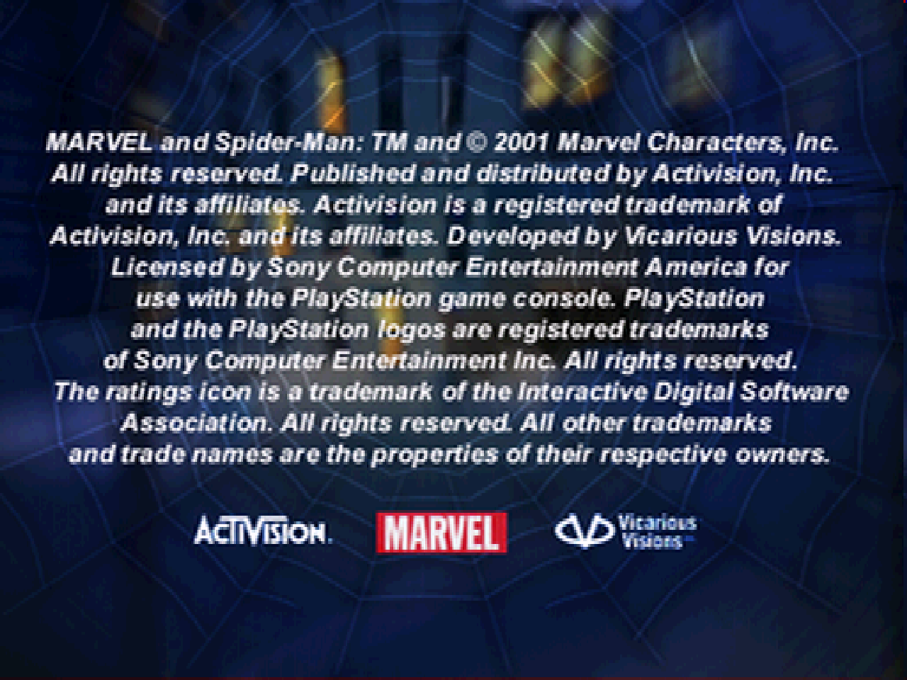 https://s3.eu-west-3.amazonaws.com/games.anthony-dessalles.com/Spider-Man 2 Enter Electro PS1 2020 - Screenshots/Spider-Man 2 Enter Electro-201125-184902.png