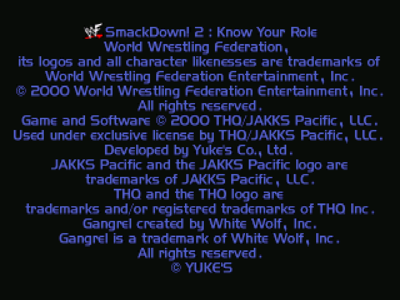 https://s3.eu-west-3.amazonaws.com/games.anthony-dessalles.com/WWF SmackDown 2 Know Your Role PS1 2020 - Screenshots/WWF SmackDown 2 Know Your Role-201127-183648.png