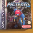 METROID FUSION TIRA ROJA NINTENDO GBA GAMEBOY ADVANCE NUEVO FACTORY SEALED