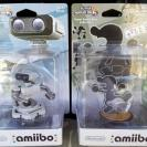 Amiibo Smash R.O.B + Mr. Game & Watch