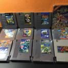Lote 11 juegos NES 8bits