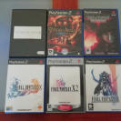 Pack de 6 juegos PS2