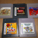GAMEBOY LOTE SOCCER,TETRIS,CARD HERO, DRAGON QUEST MONTERS Y Yu-Gi-Oh! II