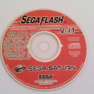 SEGA SATURN SEGA FLASH DEMO VOL 1 RARO