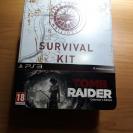 juego PS3 Tomb Raider + figura SURVIVAL KIT