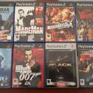 Pack de 8 juegos PS2