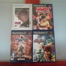 Pack de 4 juegos PS2