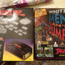 ATARI JAGUAR WHITE MEN CAN´T JUMP + TEAM TAP ADAPTER NUEVO DESPRECINTADO