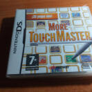 MORE TOUCHMASTER NINTENDO DS NDS PAL ESP