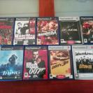 Pack de 9 juegos PS2