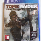 TOMB RAIDER DEFINITIVE EDITION PS4 PRECINTADO