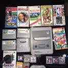 CONSOLA NINTENDO SNES FAMICOM SUPERFAMICOM + SUPER GAMEBOY + JUEGOS SFC 6 COMPLETOS Y Y 3 SOLO CARTUCHO