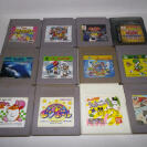 GAMEBOY LOTE 12 JUEGOS SUPER MARIO LAND 2, ALLEWAY, YOSHI, KIRBY DREAM 2, DR MARIO ETC.. GAME BOY