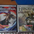 PACK PRINCE OF PERSIA + HEROES V PC DVD ROM NUEVO PRECICINTADOS
