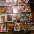 LOTE 27 JUEGOS PS2 EN PERFECTO ESTADO MUY BUENOS TITULOS DMC, RISK, MULAN, SEGA...