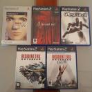 Pack de 5 juegos PS2