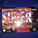 SUPER STREET FIGHTER II SUPER NINTENDO SNES PAL ESPAÑA COMPLETO
