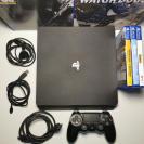 PlayStation 4 Slim 1TB + Mando Dualshock 4 V2 + Juegos