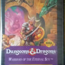 DUNGEONS AND DRAGONS MEGADRIVE GENESIS