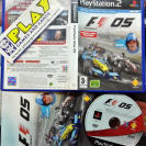 FORMULA ONE F1 05 2005 PAL ESPAÑA PS2 PLAYSTATION 2 ENVIO CERTIFICADO / 24H
