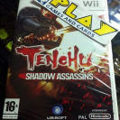 TENCHU 4 SHADOW ASSASSINS WII PAL ESPAÑA NUEVO SEALED