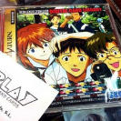 NEON GENESIS EVANGELION DIGITAL CARD LIBRARY SEGA SATURN DISCO COMO NUEVO MINT
