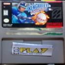 KEN GRIFFEY JR WINNING RUN NTSC USA SUPER NES NINTENDO SNES ENVIO CERTIFICADO