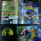 MARIO POWER TENNIS PAL ESPAÑA COMPLETO BUEN ESTADO GAMECUBE GAME CUBE GC