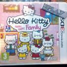 HELLO KITTY HAPPY HAPPY  FAMILY NINTENDO 3DS PAL ESPAÑA NUEVO PRECINTADO ENVIO24