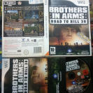 BROTHERS IN ARMS ROAD TO HILL 30 WII PAL FR COMPLETO MUY BUEN ESTADO ENVIO 24H