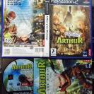 ARTHUR Y LOS MINIMOYS PAL ESPAÑA COMPLETO PS2 PLAYSTATION 2 ENVIO CERTIFICADO