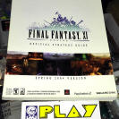 GUIA LIBRO GUIDE BOOK FINAL FANTASY XI 11 ONLINE OFFICIAL SPRING 2004 VERSION