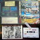 EUROPEAN GAMES TYNESOFT PAL ESPAÑA MSX 1987 RS-110  ENVIO AGENCIA URGENTE 24H