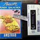 PLAGA GALACTICA  CINTA TAPE CASSETTE PAL ESPAÑA AMSTRAD AMSOFT ENVIO 24H