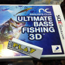 ANGLERS ANGLER'S CLUB ULTIMATE BASS FISHING 3D PESCA 3DS NUEVO PRECINTADO SEALED