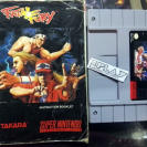 FATAL FURY TAKARA CARTUCHO + MANUAL NTSC USA SUPER NES NINTENDO SNES ENVIO 24H